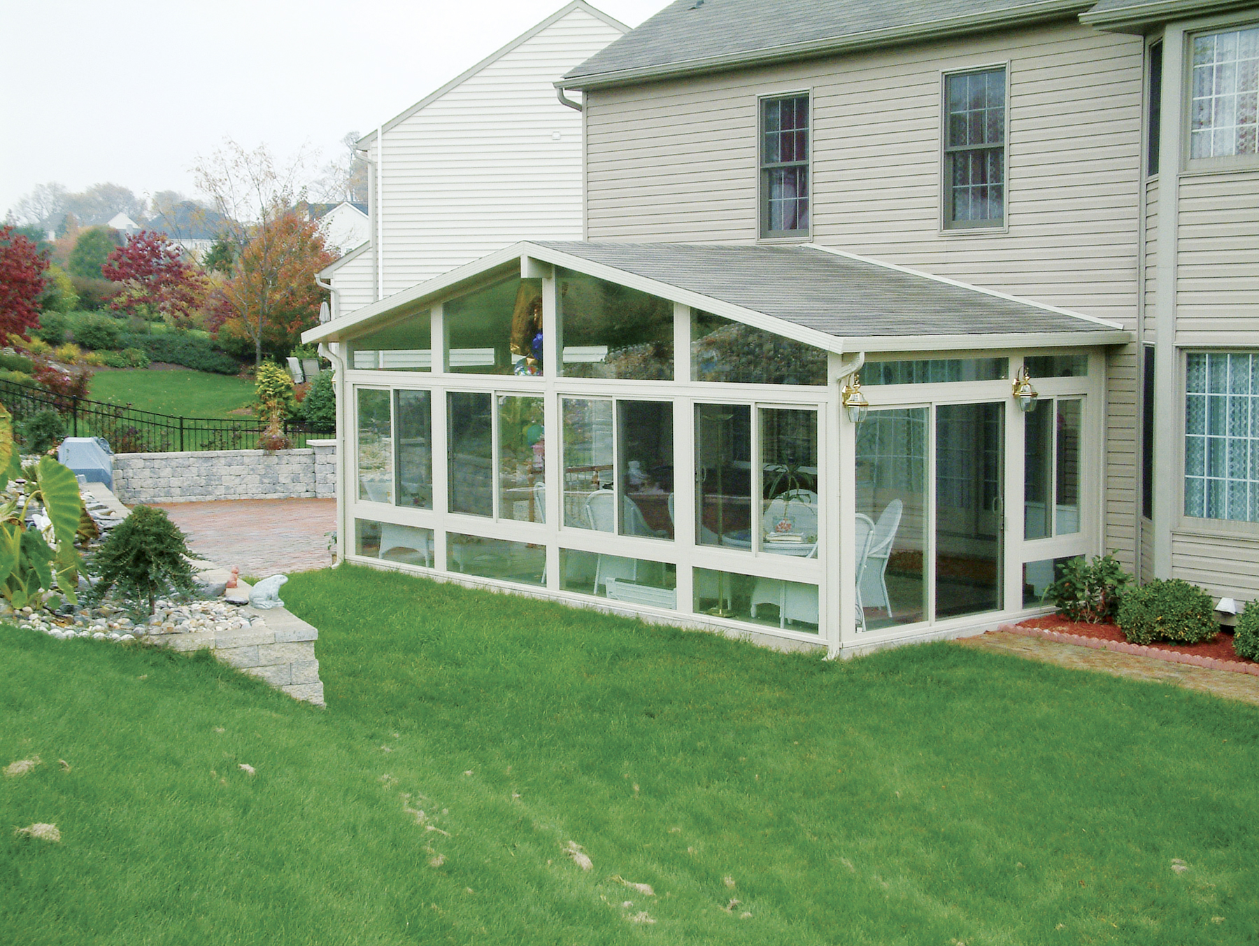 gable style sunroom by betterliving patio sunrooms of pittsburgh