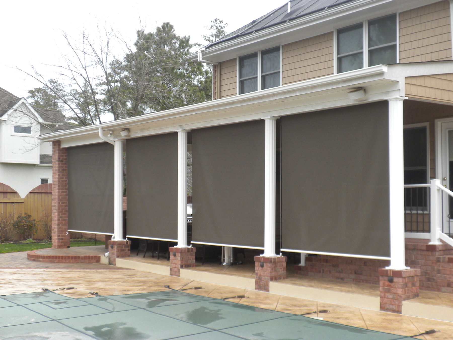 EXTERIOR SOLAR SHADES BY BETTERLIVING SUNROOMS U0026 AWNINGS OF PITTSBURGH