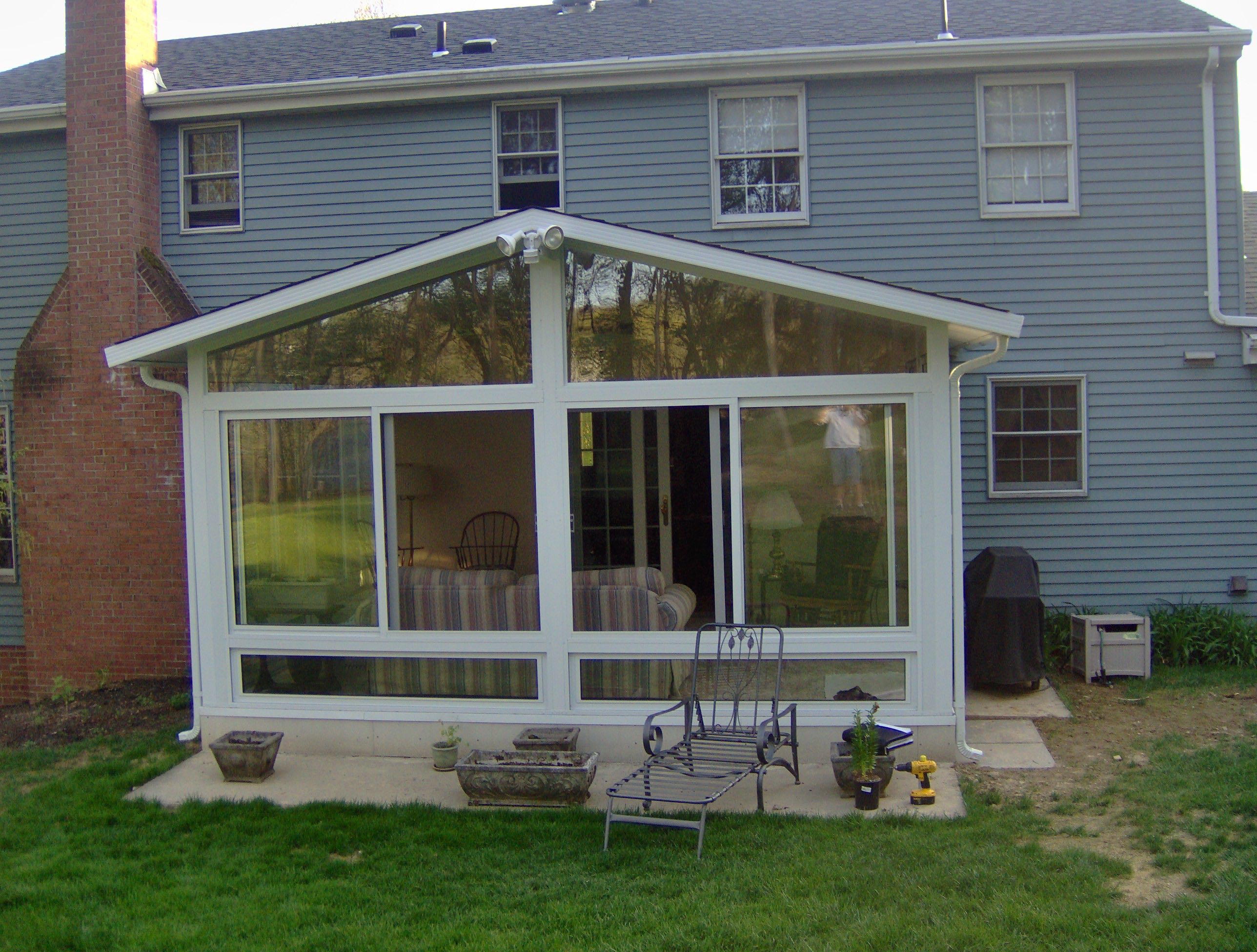 sunrooms after gable style sunroom by betterliving patio